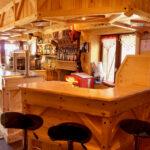 Le bar du chalet des Marmottes