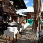 Service buffet en terrasse